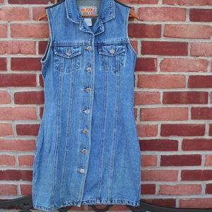 fd393c81ba Kalifornia Speed Control Dresses - Vintage Sleeveless Denim Jean Dress
